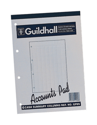 Analysis Pads/Paper