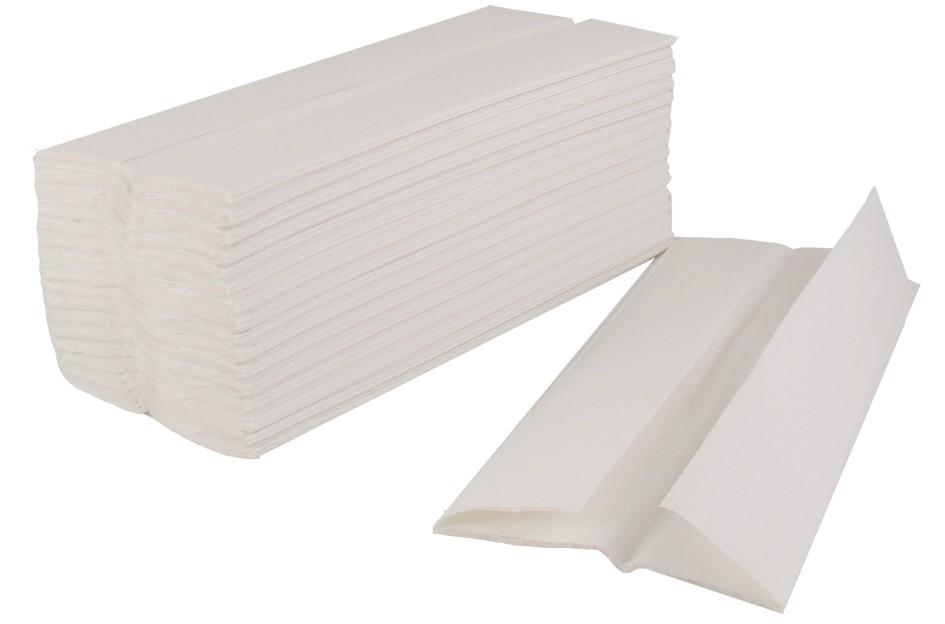 C FOLD HAND TOWEL 2PLY WHITE 2430s