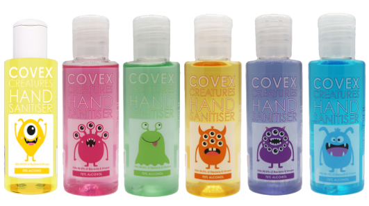 COVEX CREATURES HAND SAN 6x75ml