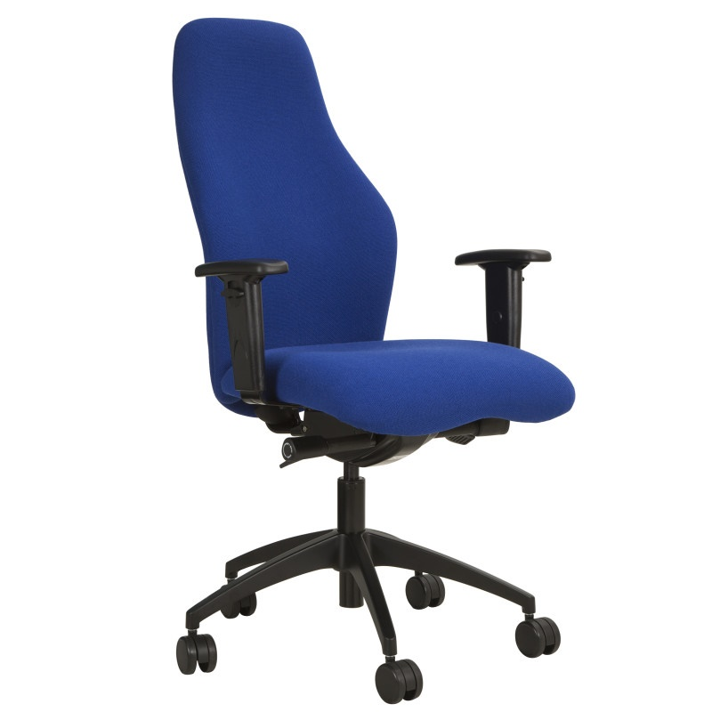 Cambridge High Back Task Chair With Fold Away Arms