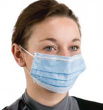 FFP1 3-Layer Disposable Face Masks