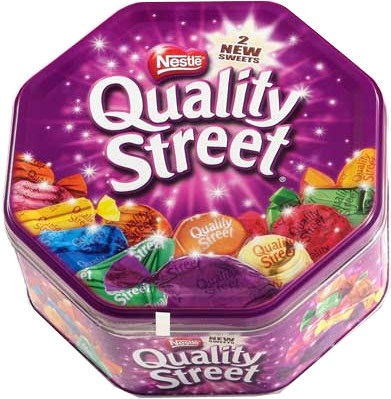 1 x Tin of Quality Streets - Orders £150