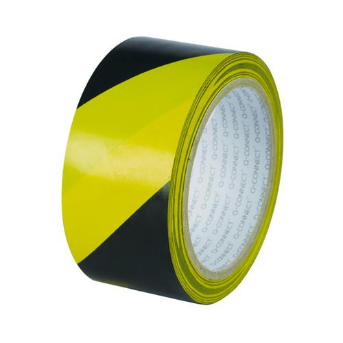 Hazard Tape Black/Yellow 50mm x 33m