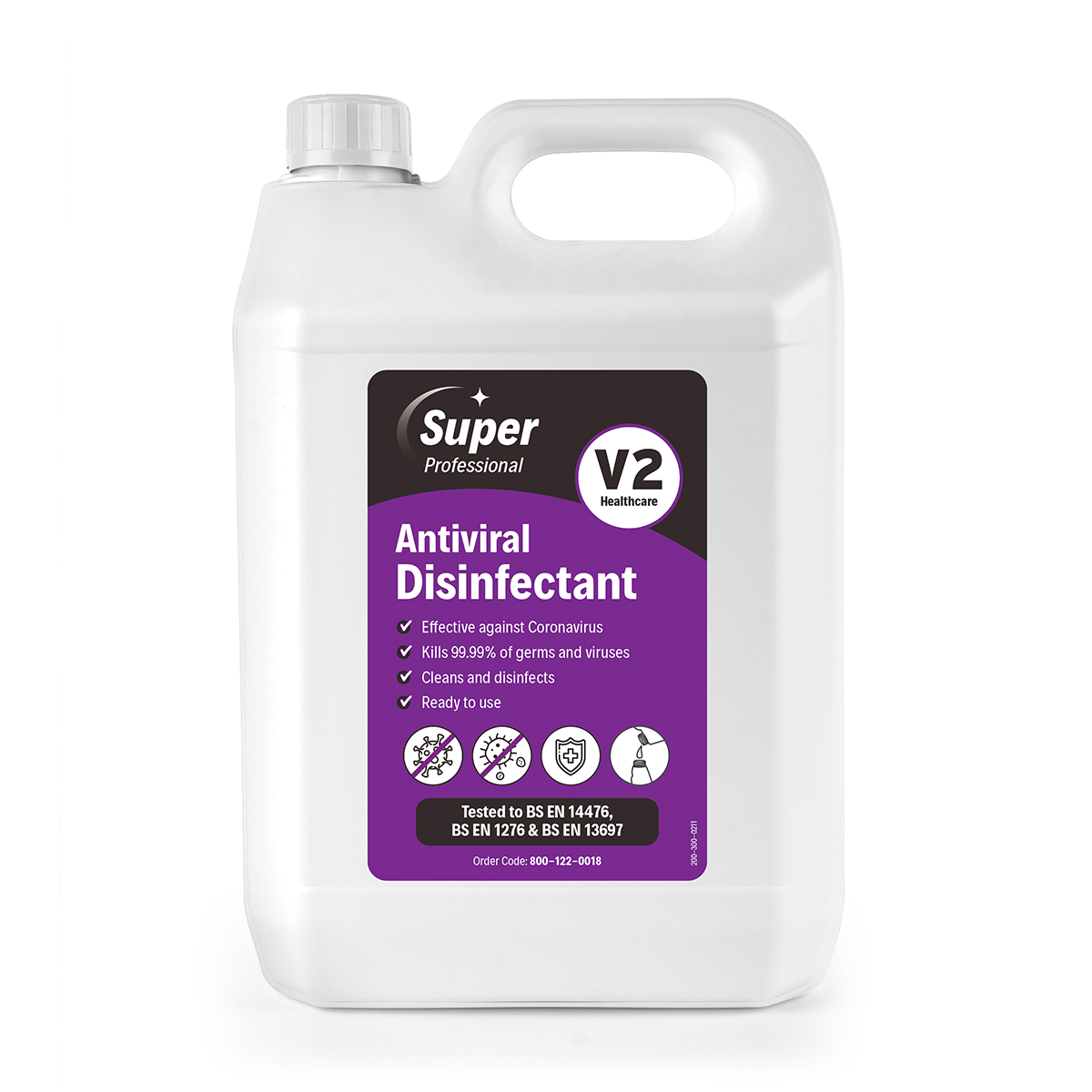 V2 Antiviral Disinfectant 5L