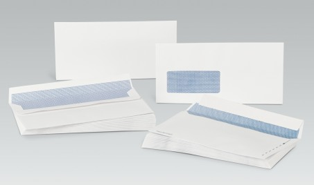 C5 Plain White Envelopes. Boxed 500