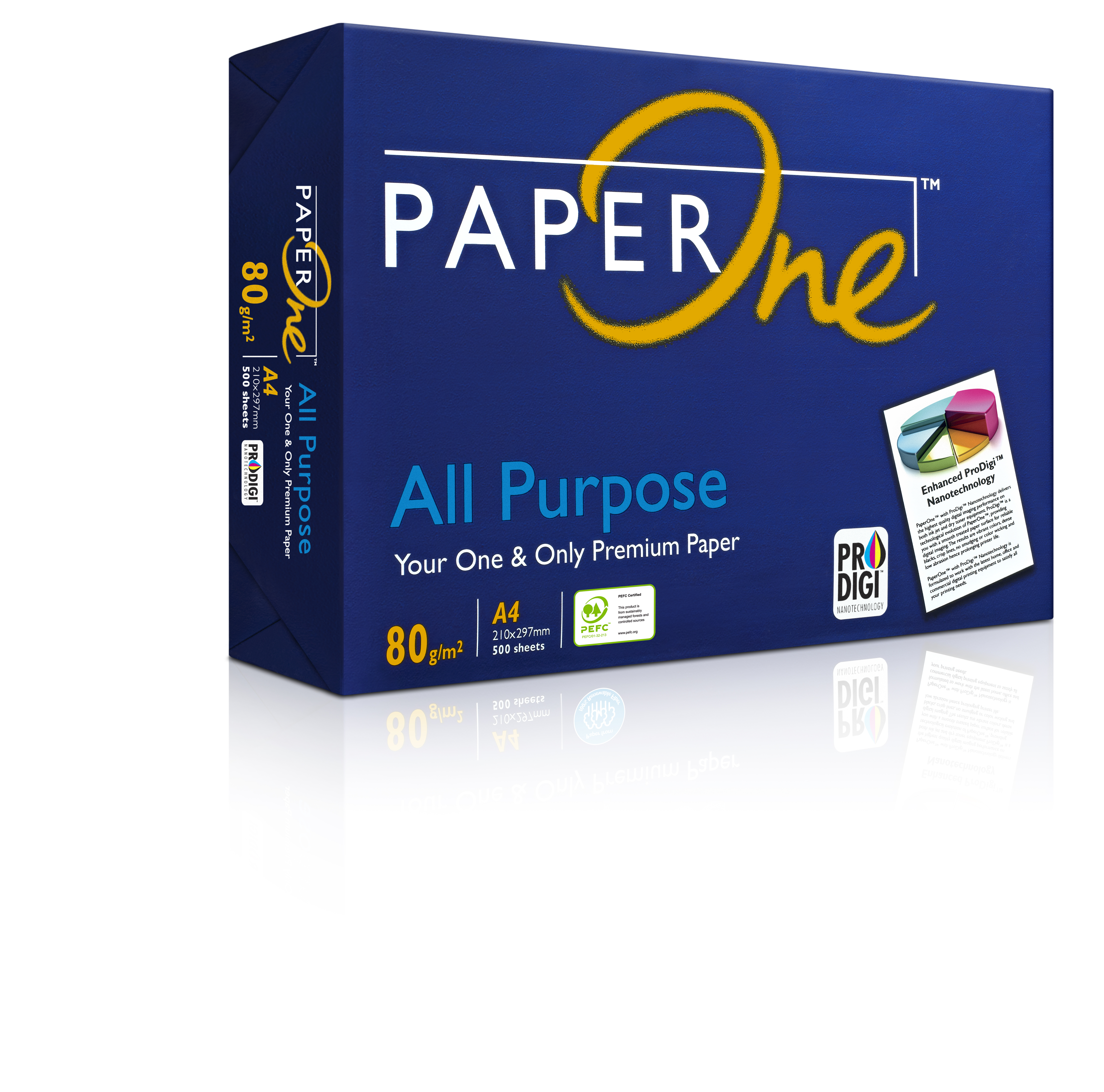 PAPER ONE DATA 80GSM WHITE COPIER A4