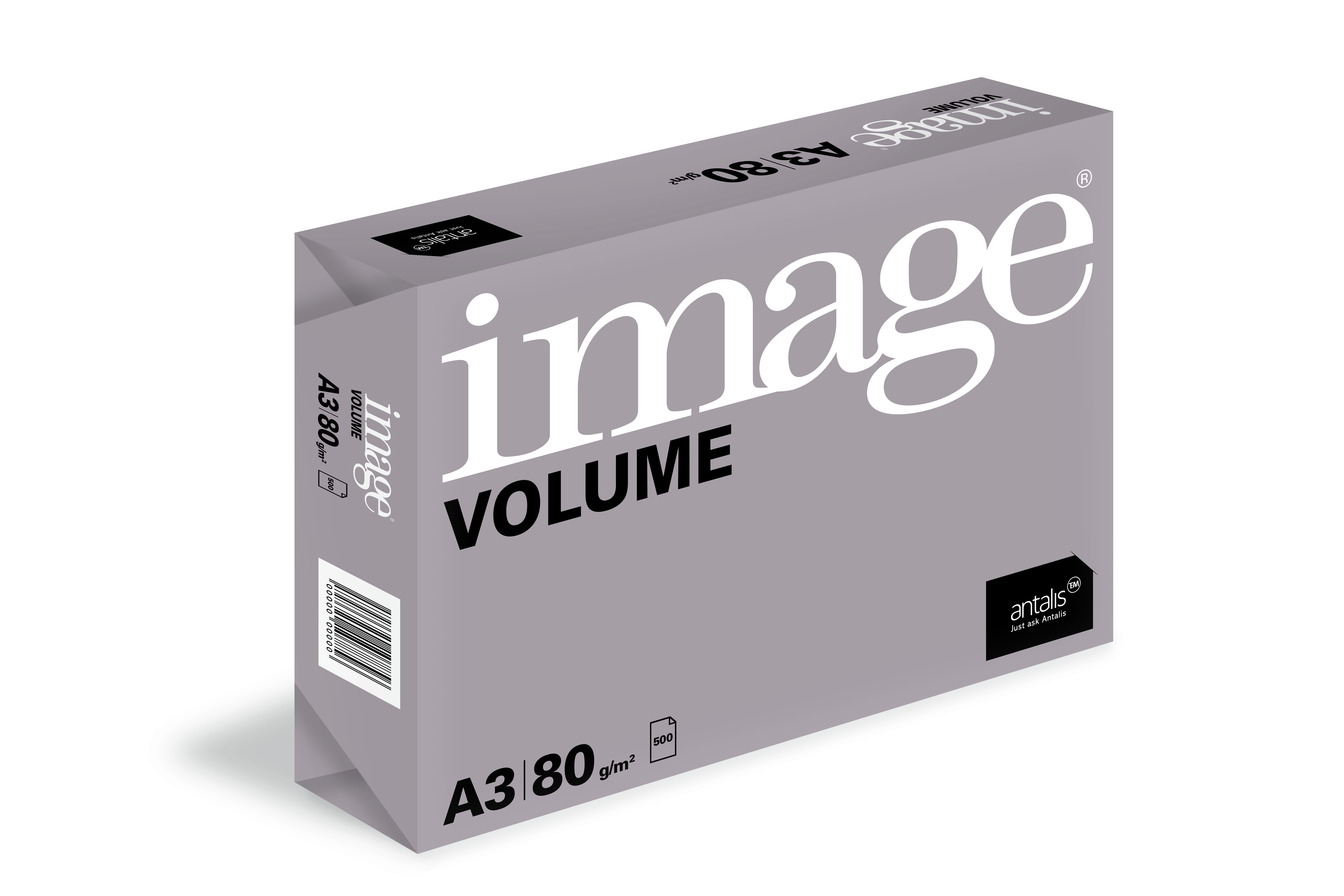 IMAGE VOLUME COPY PAPER 80GSM  A3 REAM,