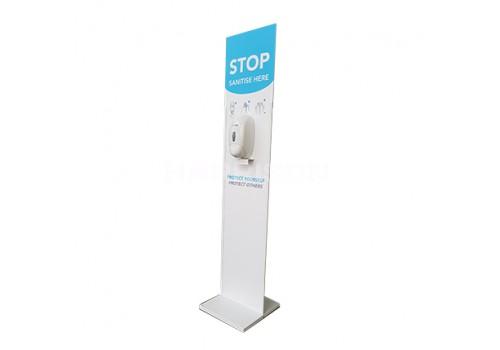 Floor Standing Sanitiser Station 350x350