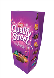 Nestle Quality Street Assorted Chocolates Box 350g Ref 12188146