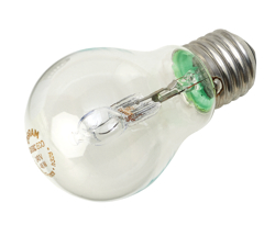 Light Bulb Energy Saving GLS Halogen Screw Fitting 46W Clear
