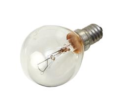 Light Bulb E14 SES Golf Ball Screw Fitting 40/42W Clear