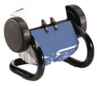 Rolodex Classic 250 Rotary Open Card File Black S0793590