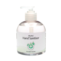 2Work Hand Sanitiser Pump 300ml Pk6