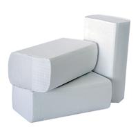 2Work M-Fold Hand Towel 1-Ply White Pk 3000