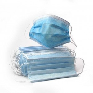 3 Ply Disposable Face Mask, Pack 50