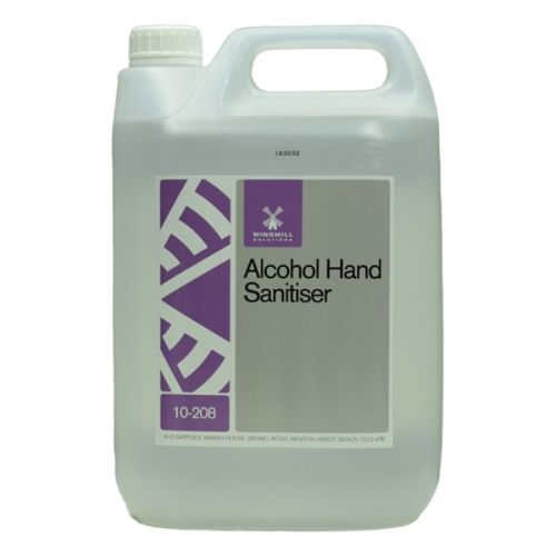 Windmill Alcohol Hand Sanitiser 5 litre