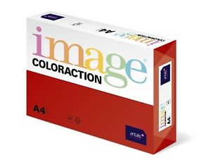 Coloraction Red A4 80gsm 89614