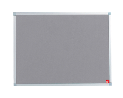 5 Star Felt Board Alu Trim 900x600 Gry