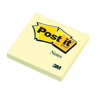 Post-it Notes 76 x 76mm Canary Yellow 654Y