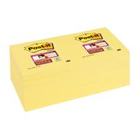 Post-it Super Sticky Note Canary Yellow 76 x 76mm 654-12SSCY