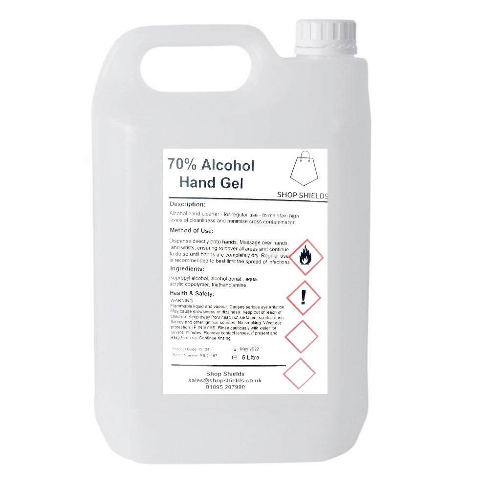 Hand sanitiser 5 litre refill