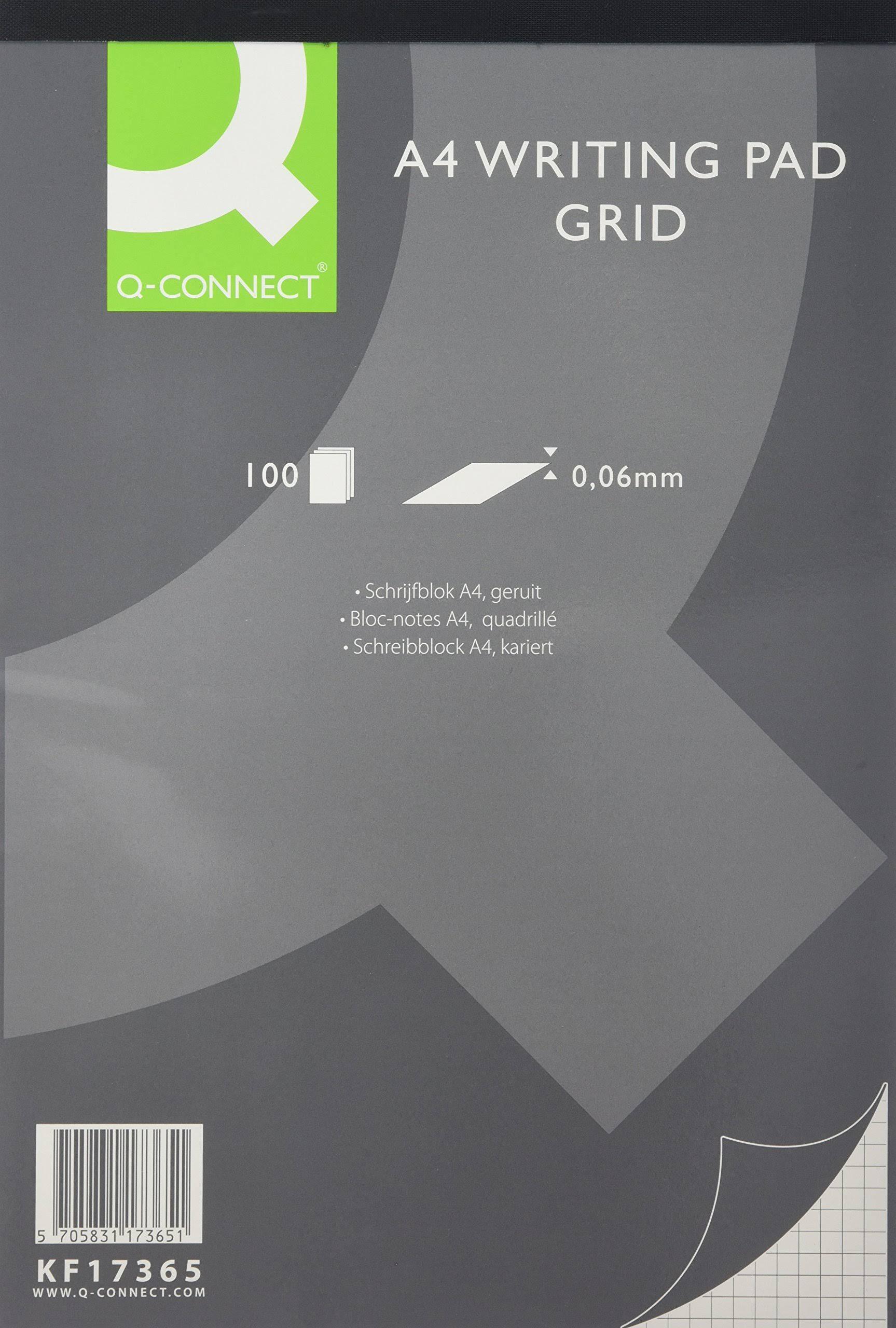 Q-Connect Refill Pad A4 Quad 100 Sheets PK5