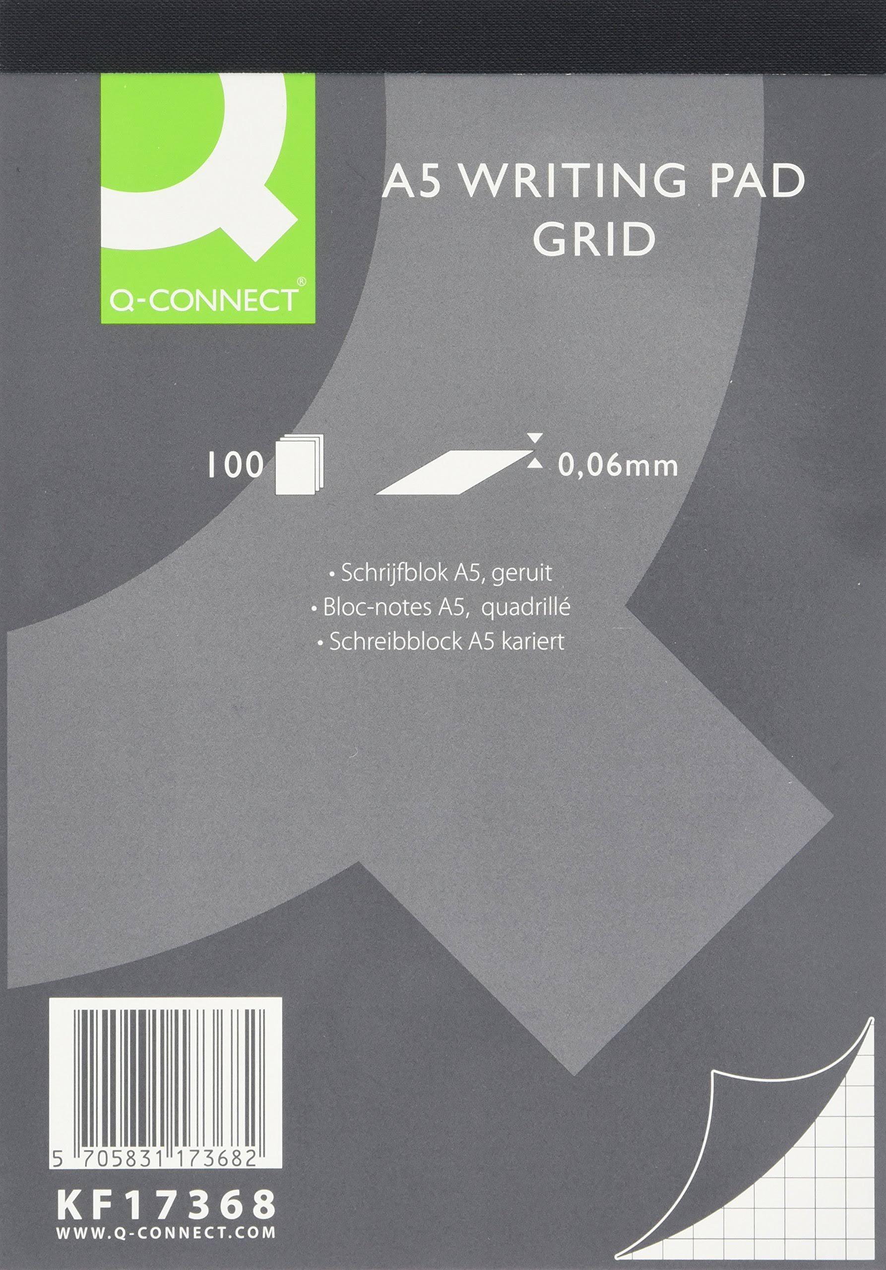 Q-Connect A5 Refill Pad Quad 100 Sheets PK5