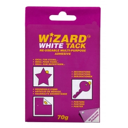 VALUE WIZARD WHITE TACK 70G
