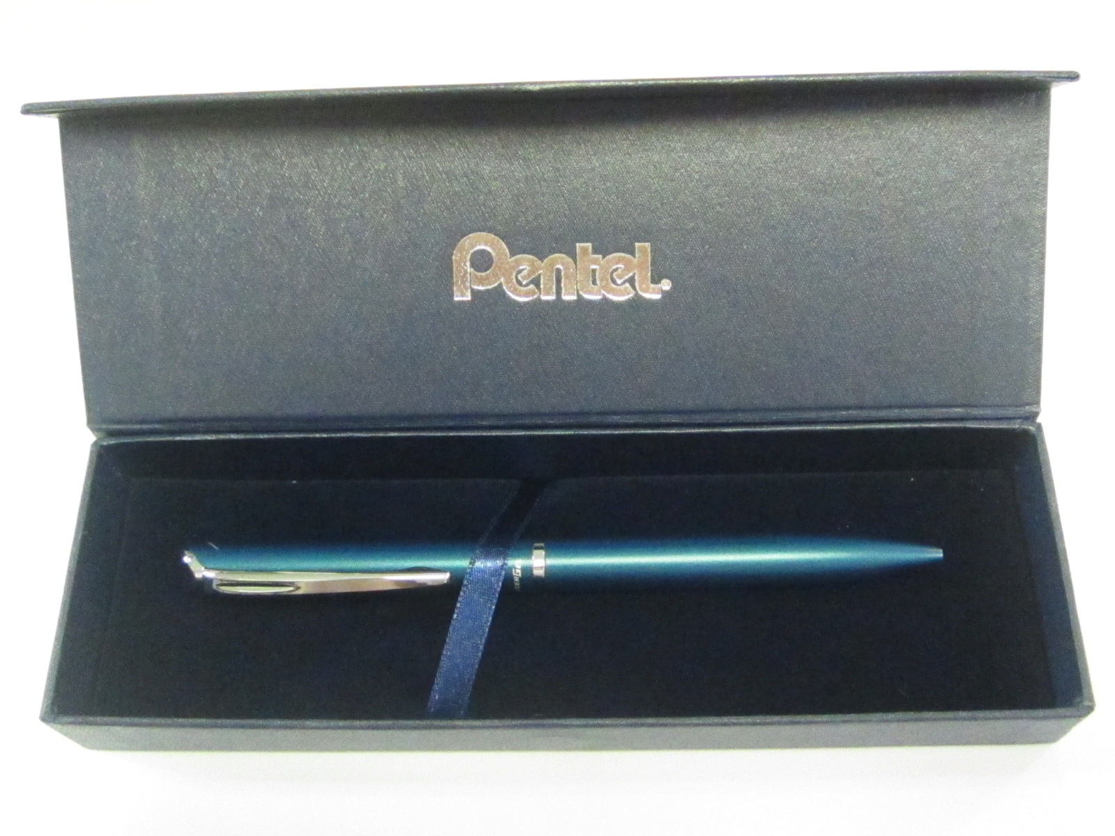 PENTEL PHILOGRAPHY PEN TEAL GIFT BOX