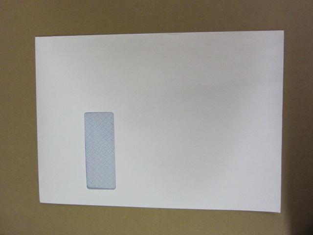 C4 WHITE WINDOW 90GSM ENVS BX250 324x229