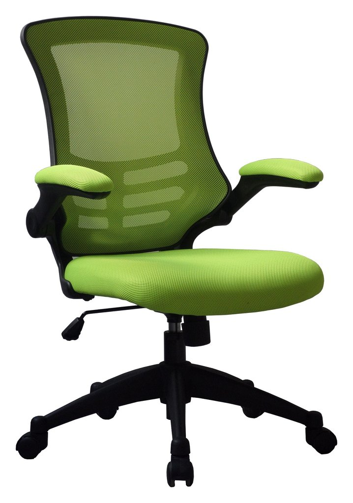 LUNA MESH BACK CHAIR GREEN