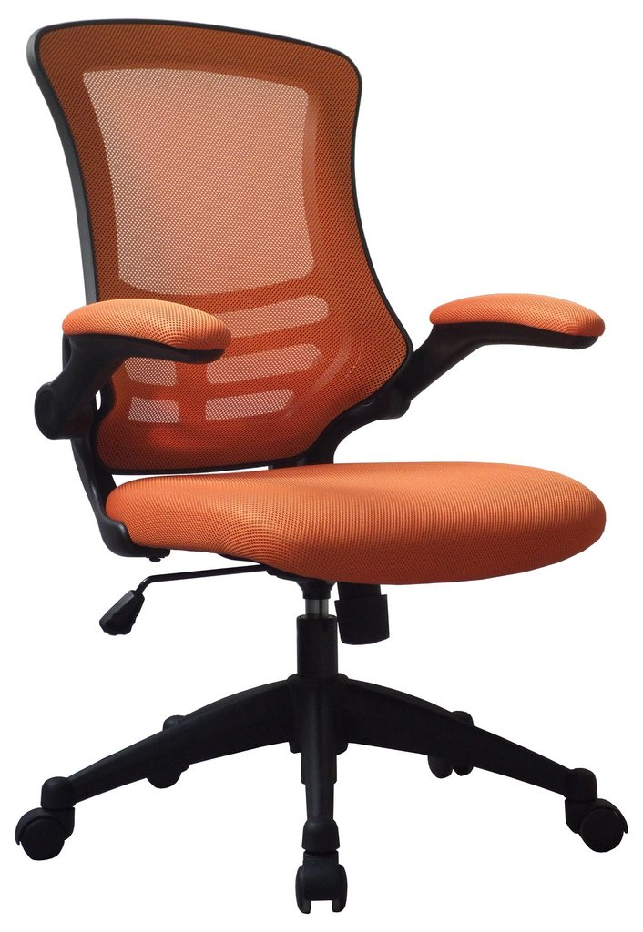 LUNA MESH BACK CHAIR ORANGE