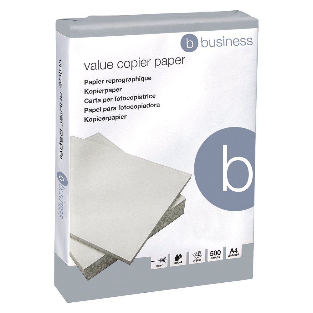 5 Star Value Copier Paper Multifunctional Ream-Wrapped 75gsm A4 White [500 Sheets]