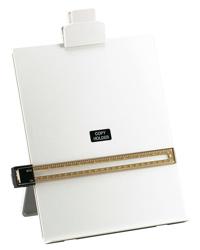 5 Star Desktop Copyholder with Line Guide Ruler A4 Grey