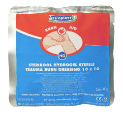 First Aid Burns Packs