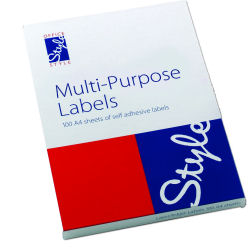 Style Optima Labels 139.0x99.1 (100)
