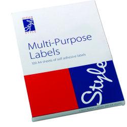 Style Optima Multi-Purpose Labels 139.0x99.1mm White (100)