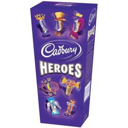 Cadbury Heroes Miniature Chocolates Selection Box 185g Ref A03810
