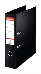 LEVER ARCH FILE - PVC A4 70mm BLACK - ORDER 10 OR MORE FOR BULK DISCOUNT!!