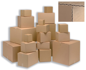 CARTONS SINGLE WALL 229 x 152 x 152mm - ORDER 25 OR MORE FOR BULK DISCOUNT!!