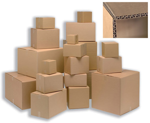 SINGLE WALL CARTONS 305 x 229 x 229mm - ORDER 25 OR MORE FOR BULK DISCOUNT!!