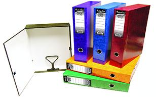 PREMIER GRIP FOOLSCAP BOX FILE BOARD - ORDER 10 OR MORE FOR BULK DISCOUNT!!