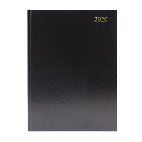 DIARY A5 Week to View 2020 BLACK