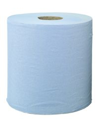CENTRE FEED ROLLS 175mm x 150m 2ply BLUE
