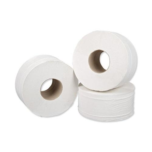 TOILET ROLLS JUMBO 2ply 60mm CORE x 300m - ORDER 5 OR MORE FOR BULK DISCOUNT!!