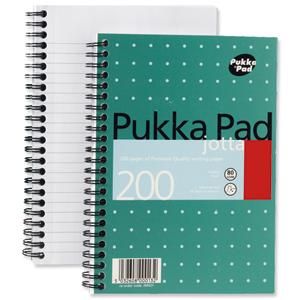 PUKKA JOTTA NOTEBOOKS A5 METALLIC - MULTI BUY DISCOUNT AVAILABLE!!