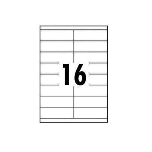OFFICE CLUB LABELS 99 x 34mm 16up (100) ORDER 5 BOXES OR MORE FOR BULK DISCOUNT!!
