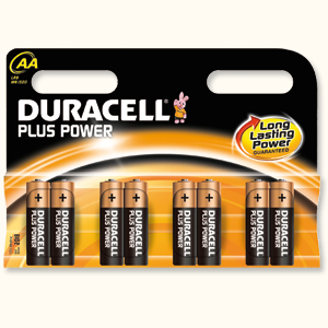DURACELL BATTERIES - AA (pk 8)