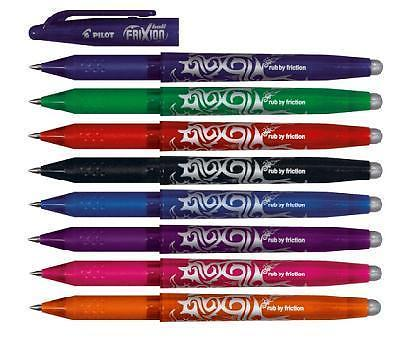 PILOT FRIXION ERASABLE PEN 0.7mm BLACK - ORDER 12 OR MORE FOR BULK DISCOUNT!!