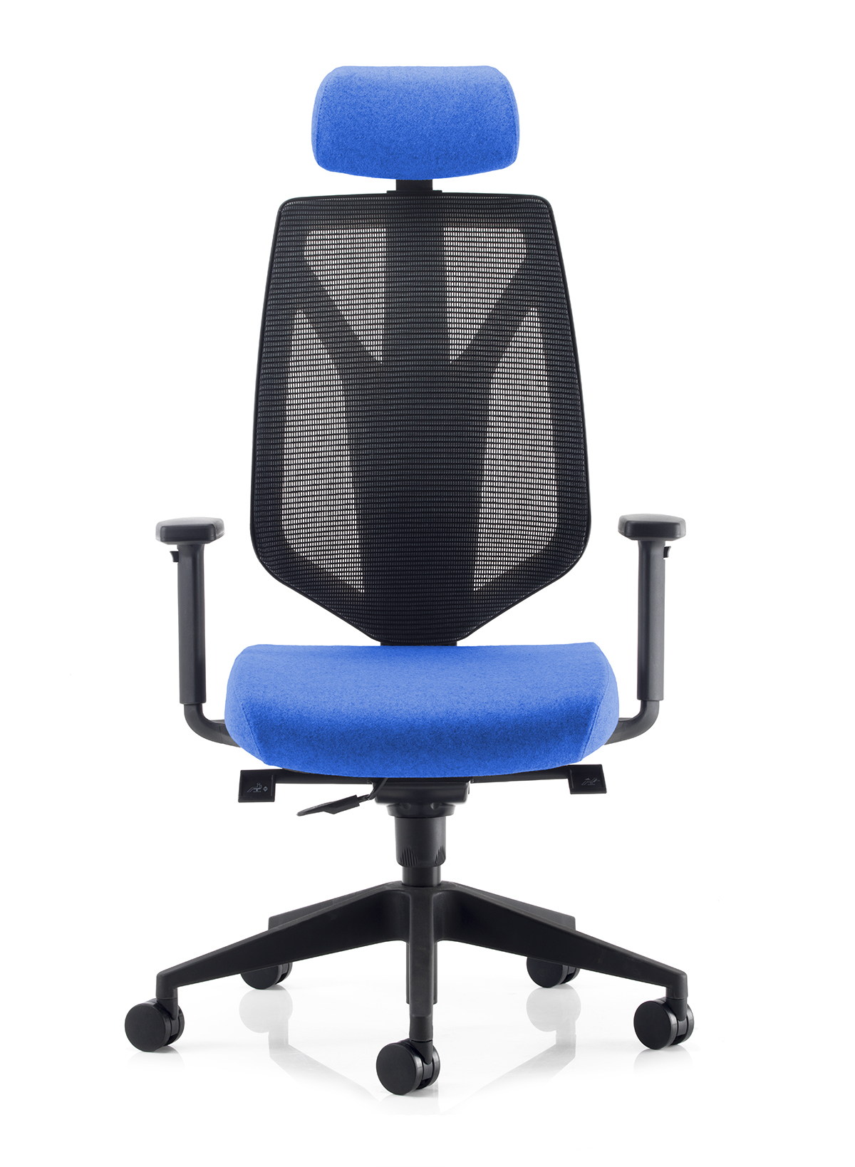 PSI MENTOR MESH HIGH BACK TASK CHAIR WITH HEADREST AND HEIGHT ADJUSTABLE ARMS